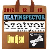 Beatinspector @ Szatyor Bár és Galéria - 2012.12.15