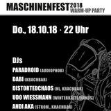 Andi Aka @Maschinenfest 2k18 warm-up party Oberhausen, Turbinenhalle-Cosmo Club