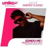 Teté Studio Set @t UnikaFM Madrid 13/06/2017