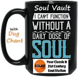 Solar Radio Soul Vault 23/5/18 with Dug Chant 12am to 2am Wednesday morning SKY 0129 DAB Radio