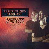 Coldsounds Podcast 003 incl. Holbrook & SkyKeeper Guest Mix