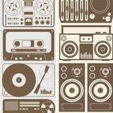 Funky techno beats