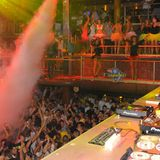 Caal Smile playing at the only one, Foam Party - Amnesia Ibiza