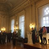 Life Achievement Award @Mairie de Rennes 21.03.2016 part2