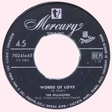 Words of Love (1957-1979 R&B)
