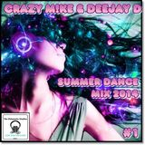 Crazy M!ke & Deejay D - Summer Dance Mix 2014 #1