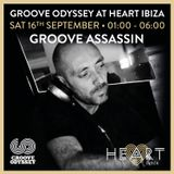 Groove Assassin Live @ Groove Odyssey, Heart Ibiza, Sept 16th 2017