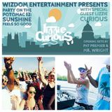Lizzie Curious live @ Party on the Potomac, Washington DC (Wizdom Entertainment) 28/05/16