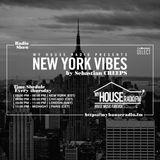 Sebastian Creeps aka Gil G - New York Vibes Radio Show on MyHouseRadio.fm NYC EP016