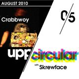 Upp/Circular podcast 05 - Featuring Skrewface and Crabbwoy