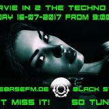DJ Arvie In 2 The Techno Zone 16-07 and 21-07-2017 Cuebase FM.de Black stream