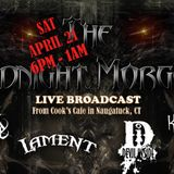 The Midnight Morgue is LIVE at Cook's Cafe