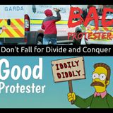 Good Protester, Bad Protester - Don't Fall for Divide and Conquer