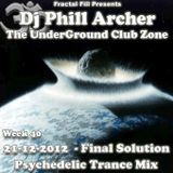 21-12-2012 - The final Solution - The UnderGround Club Zone Radio Show