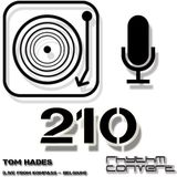 Techno Music | Tom Hades in the Rhythm Converted Podcast 210 (Live at Kompass - Ghent)