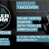 Richie Hawtin Live @ Minus Takeover,Special Boiler Room ADE (20.10.11)