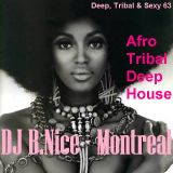 DJ B.Nice - Montreal - Deep, Tribal & Sexy 63 (** AFRO TRIBAL DEEP HOUSE - I LOVE my roots !!**)