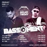 The Bassment 2/17/17 w/ Deejay Theory