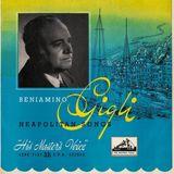 Beniamino Gigli - Neapolitan Songs [c. 1955]