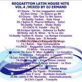Reggaeton  Latin House Hits vol.4