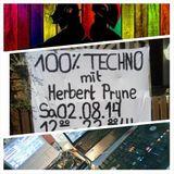 Herbert Pryne - 100% Techno@Floh-Markt NT 02.08.2014