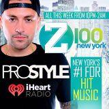 @DJPROSTYLE 1st Mix on @z100NY (9-21-15)