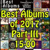Best Albums 2017 - Part III (by TimeLordMichalis)