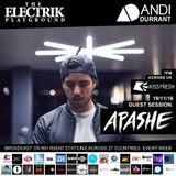 Electrik Playground 19/11/16 inc Apashe Guest Session