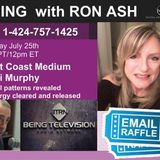 Anchors Away on Being with Ron Ash with West Coast Medium Vicki Murphy