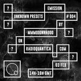 Unknown Presets by MMMOOONNNOOO #4 (03/02/2016) w/ guest mix by André Hencleeday