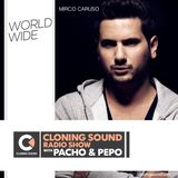 Mirco Caruso for Cloning Sound radio show with Pacho & Pepo :: 131