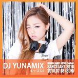 DJ YUИAMIX SANCTUARY2018 AIR STAGE