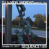 Sequence 189-DJ Aaron Andrews-October 27, 2017