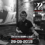 Live @ P2 Dinner & Bar 29-09-2018