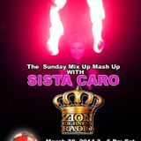 The Sunday Mix Up Mash Up With Icebox International & Sista Caro