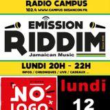 Emission RIDDIM 12 juin 2017 spéciale NO LOGO FESTIVAL