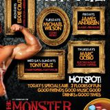 "a portion of one of my nights at the ""MONSTER NYC""!"