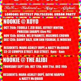 Nookie Summer Smashes 2013 - Bashment, RnB, House & Afrobeat for LDN