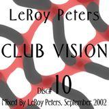 Club Vision Disc #10, September 2002