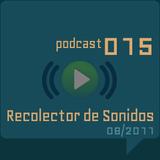 RECOLECTOR DE SONIDOS 015 - 08/2011