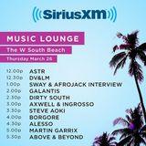 Swayjack (Afrojack & Sway) - live @ Music Lounge, Miami Music Week – 26.03.2015