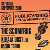 The Scumfrog - Public Works 23/09/2017