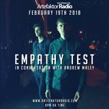 EMPATHY TEST INTERVIEW  // SPECIAL SHOW // ARTEFAKTOR RADIO // 19FEB2018