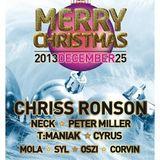 Neck b2b Peter Miller - Live@Christmas Party - Art Muhely [Bekescsaba] 2013.12.25