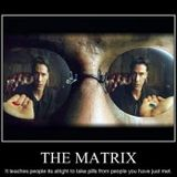 Back in the Matrix......