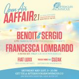 Fiat LuXx @ OPEN AIR AAFAIR W Benoit and Sergio _ Francesca Lombardo 05_21_16 Denver