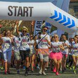 Partydul KissFM ed352 sambata part2 - ON TOUR Color Run Cluj-Napoca Piata Unrii