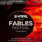 S-Kape - Live at Studio Saglio, Fables Festival (19-09-15)