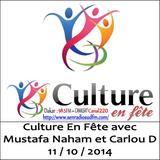 SudFM Sen Radio - Culture En Fête avec Mustafa Naham et Carlou D - 11/10/2014