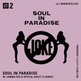 Soul In Paradise w/ Jamma Dee & Sadistic Candle - 9th February 2017